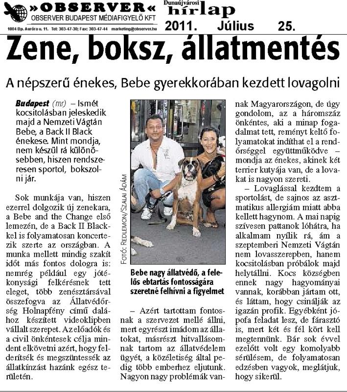Dunaújvárosi Hírlap - 2011.07.25.