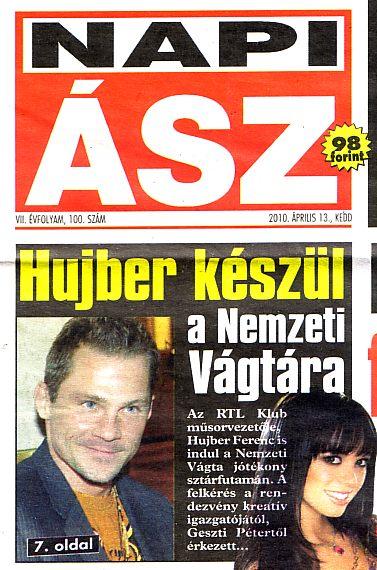 Napi Ász (címlap) - 2010.04.13.