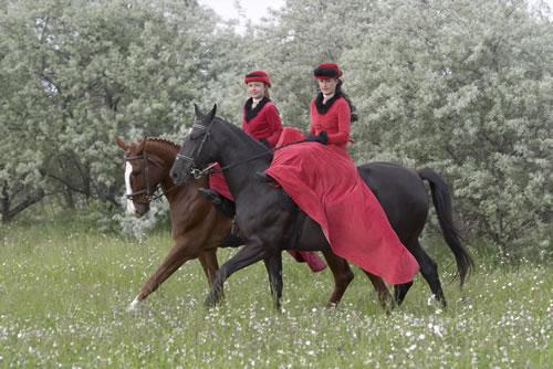 Lovas etikett, lovas divat korokon és országokon át – Ötödik rész