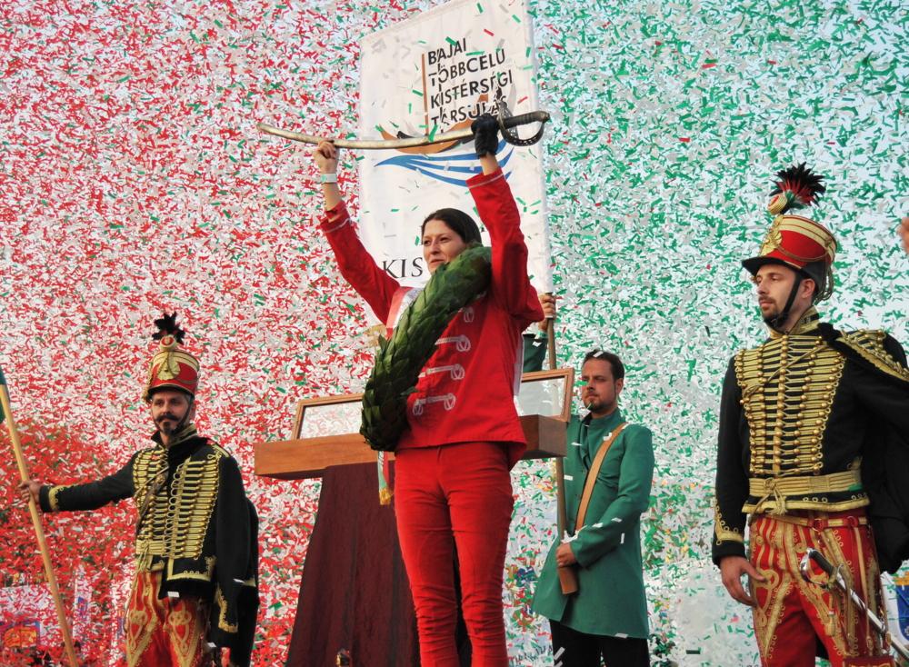 A Nemzeti Vágta győztese: Molnár Gyöngyi