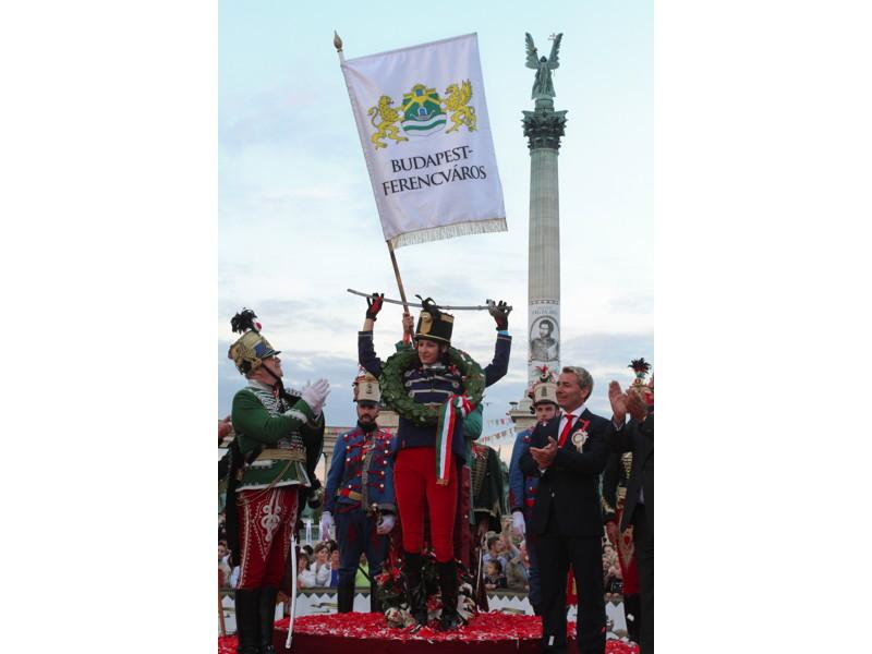Budapest-Ferencváros lova és lovasa nyerte a Nemzeti Vágtát